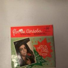 Discos de vinilo: FLOR DE CÓRDOBA. Lote 174271563
