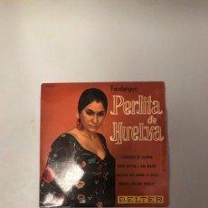 Discos de vinilo: PERLITA DE HUELVA. Lote 174271615