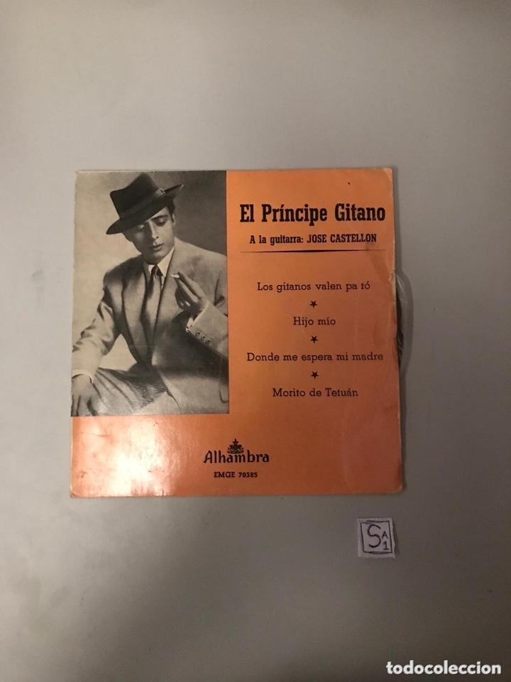 EL PRÍNCIPE GITANO (Música - Discos - Singles Vinilo - Flamenco, Canción española y Cuplé)