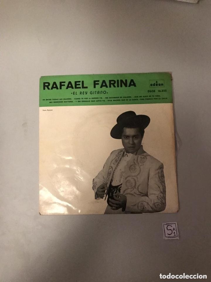 RAFAEL FARINA (Música - Discos - Singles Vinilo - Flamenco, Canción española y Cuplé)