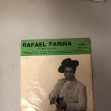 Discos de vinilo: RAFAEL FARINA. Lote 174278330