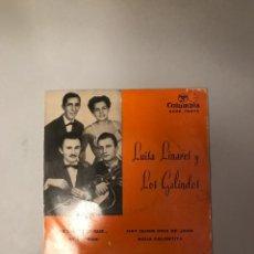Discos de vinilo: LUISA LINARES Y LOS GALINDOS. Lote 174278839