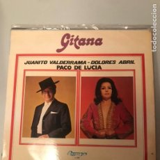 Discos de vinilo: GITANA. Lote 174282082
