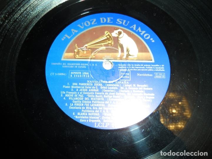 Discos de vinilo: NAVIDADES EN ESPAÑA - UNA PANDERETA SUENA. LA VIRGEN ES PANADERA. ARMEN ESTREPITO... - Foto 3 - 174291357