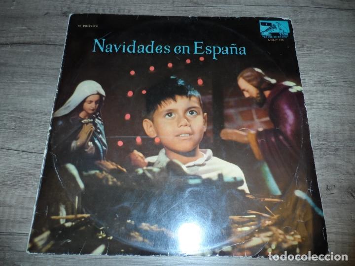 NAVIDADES EN ESPAÑA - UNA PANDERETA SUENA. LA VIRGEN ES PANADERA. ARMEN ESTREPITO... (Música - Discos - LP Vinilo - Otros estilos)