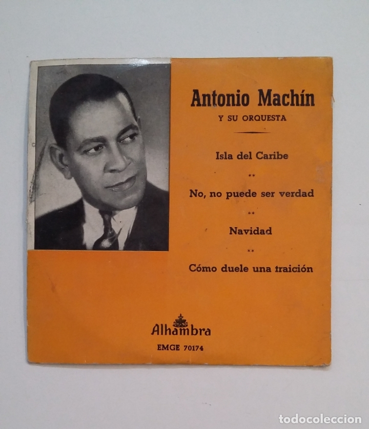 ANTONIO MACHIN Y SU ORQUESTA. - ISLA DEL CARIBE. TDKDS14 (Música - Discos - Singles Vinilo - Grupos y Solistas de latinoamérica)
