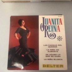 Discos de vinilo: JUANITA REINA. Lote 174304767