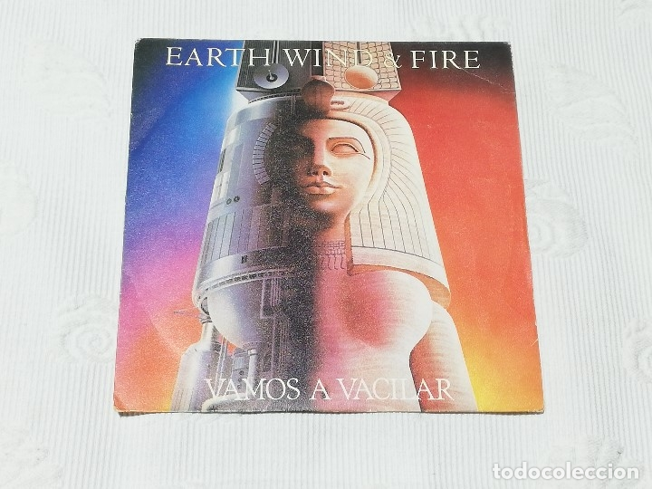 SINGLE: EARTH, WIND & FIRE · LET'S GROOVE (VAMOS A VACILAR) - CBS, 1981 - (Música - Discos - Singles Vinilo - Funk, Soul y Black Music)