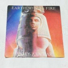 Discos de vinilo: SINGLE: EARTH, WIND & FIRE · LET'S GROOVE (VAMOS A VACILAR) - CBS, 1981 -. Lote 174307474