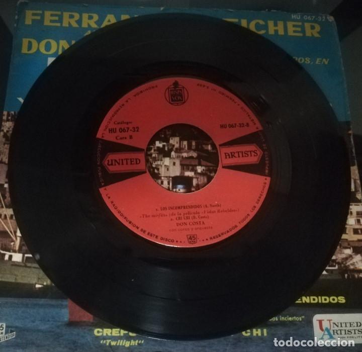 Discos de vinilo: E.P.: TEMAS DE LAS PELÍCULAS ''ÉXODO Y RUMBOS INCIERTOS'' · ferrante y teicher al piano · - Foto 3 - 174312320