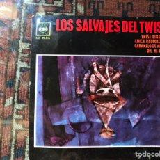 Disques de vinyle: LOS SALVAJES DEL TWIST. Lote 174320889