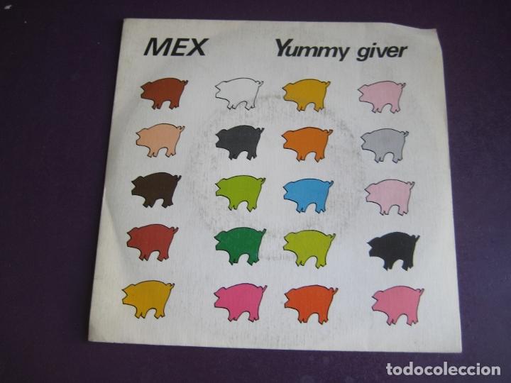 MEX SG CBS 1984 YUMMY GIVER +1 ITALODISCO - ELECTRONICA 80'S - DISCO POP (Música - Discos - Singles Vinilo - Disco y Dance)