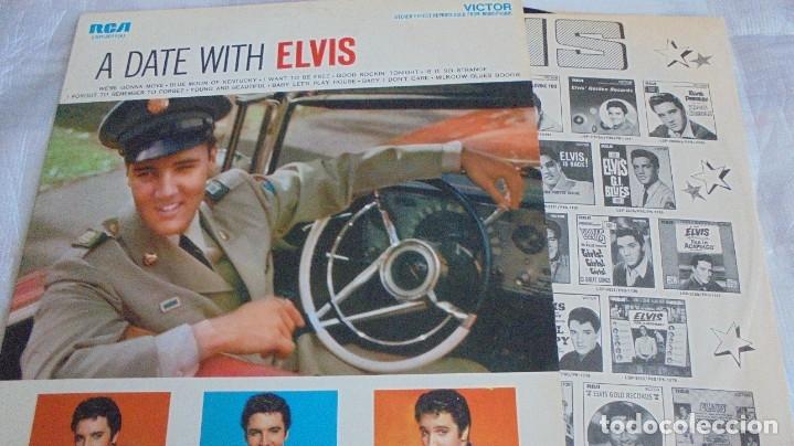 Discos de vinilo: A DATE WITH ELVIS - RCA VICTOR LSP-2011 - EDITADO EN USA (ELVIS PRESLEY) - Foto 3 - 174330512