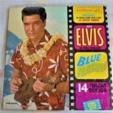 Discos de vinilo: ELVIS PRESLEY / LP / BLUE HAWAII- LMP -2246 - 1ªED.USA 1961 MONO /. Lote 174330680