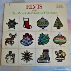 Discos de vinilo: ELVIS PRESLEY - SINGS THE WONDERFUL WORLD OF CHRISTMAS - RCA ANL1-1936 . EDITADO EN USA (C) 1971. Lote 174331897