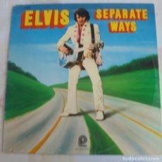Discos de vinilo: ELVIS PRESLEY - SEPARATE WAYS- PICKWICK CAMDEN CAS-2611, USA 1973. Lote 174332900