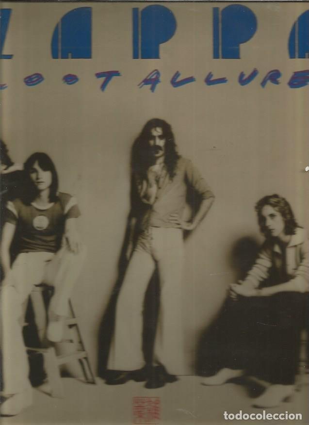 FRANK ZAPPA ZOOT ALLURES (Música - Discos - LP Vinilo - Pop - Rock - Extranjero de los 70)