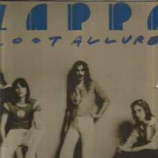 Discos de vinilo: FRANK ZAPPA ZOOT ALLURES. Lote 174357619