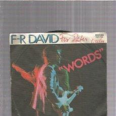 Disques de vinyle: FR DAVID. Lote 174357687
