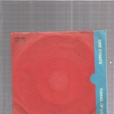 Discos de vinilo: DIRE STRAITS TUNNEL OF LOVE. Lote 174358410