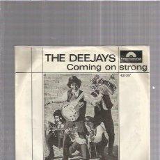 Discos de vinilo: DEEJAYS COMING ON STRONG + REGALO SORPRESA. Lote 174358753