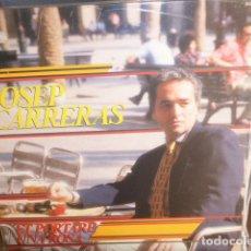 Discos de vinilo: JOSEP CARRERAS - ET PORTARE UNA ROSA - ZAFIRO - 1987. Lote 174360294