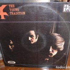 Discos de vinilo: LP - THE YOUNG TRADITION. Lote 174363412