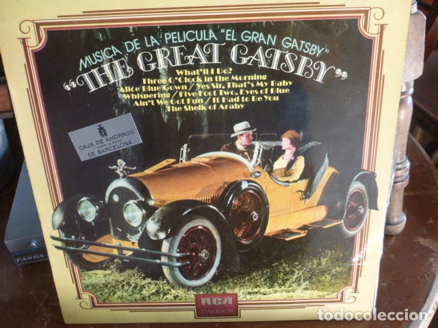 Discos de vinilo: LP BANDA SONORA - the great gatsby - - Foto 1 - 174370230