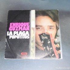 Discos de vinilo: ENRIQUE GUZMAN -- POPOTITOS & LA PLAGA ---MOVIPLAY SN 02 1141/8 ESTEREO ***COL ***. Lote 174383448
