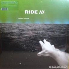 Discos de vinilo: 2LP RIDE THIS IS NOT A SAFE PLACE EDICION LIMITADA VINILO TRANSPARENTE VERDE. Lote 174390048