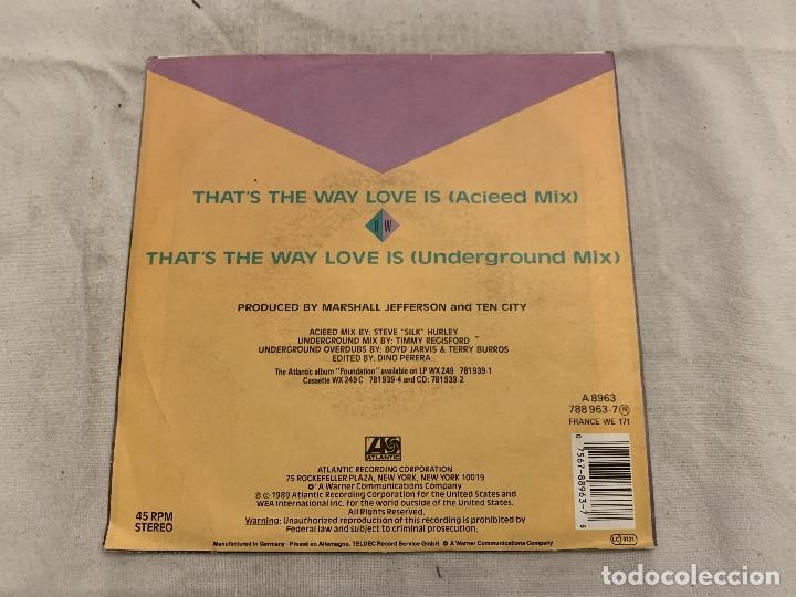 Discos de vinilo: Ten City – That's The Way Love Is Sello: Atlantic – 788 963-7 Formato: Vinyl, 7 , 45 RPM, Single - Foto 2 - 174404537