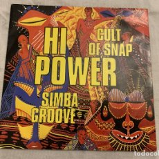 Discos de vinilo: HI POWER ‎– CULT OF SNAP SELLO: ON THE BEAT ‎– OTB 1312-7 FORMATO: VINYL, 7 , 45 RPM PAÍS: FRANCE . Lote 174406140