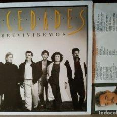 Discos de vinilo: MOCEDADES - SOBREVIVIREMOS - LP. Lote 174406354