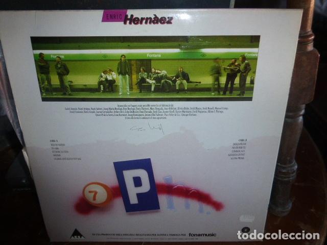 Discos de vinilo: LP ERIC HERNÂEZ - FONOMUSIC 1986 - Foto 2 - 174406665