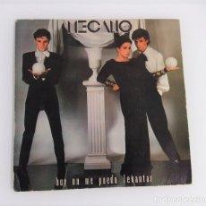 Discos de vinilo: MECANO: HOY NO ME PUEDO LEVANTAR Y QUIERO VIVIR EN LA CIUDAD. Lote 174406758
