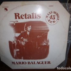Discos de vinilo: MARIO BALAGUER - RETALLS 1977. Lote 174406767