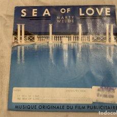 Discos de vinilo: MARTY WILDE – SEA OF LOVE SELLO: PHILIPS – 878 648-7 FORMATO: VINYL, 7 , 45 RPM . Lote 174407265