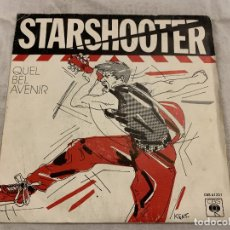 Discos de vinilo: STARSHOOTER – QUEL BEL AVENIR SELLO: CBS – CBS A 1221 FORMATO: VINYL, 7 , 45 RPM, SINGLE PAÍS: FR. Lote 174407733