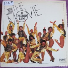 Discos de vinilo: LP - A CHORUS LINE - THE MOVIE (SPAIN, CASABLANCA RECORDS 1985, PORTADA DOBLE). Lote 174408235
