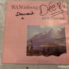 Discos de vinilo: WANG CHUNG – DANCE HALL DAYS SELLO: GEFFEN RECORDS – A 3837, GEFFEN RECORDS – GEF A 3837 FORMATO. Lote 174408254