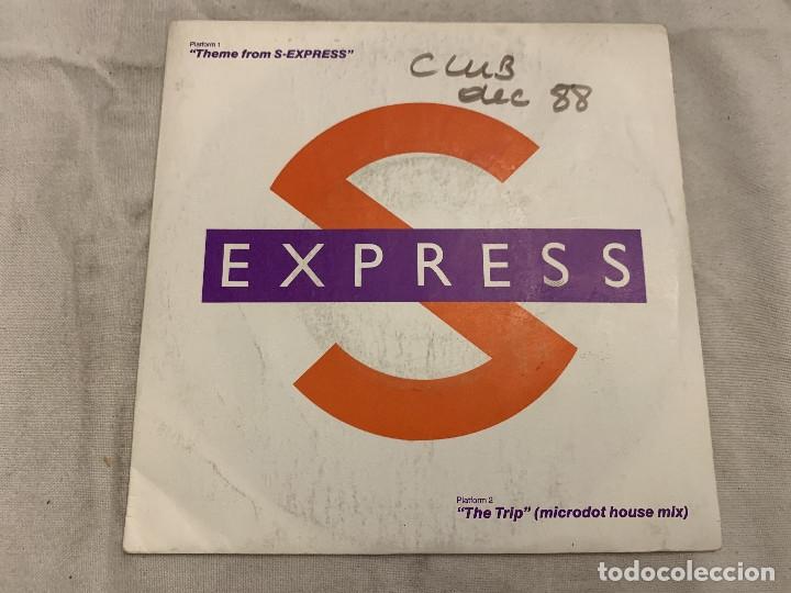S-EXPRESS* – THEME FROM S-EXPRESS SELLO: RHYTHM KING RECORDS – LEFT 21 FORMATO: VINYL, 7 (Música - Discos - Singles Vinilo - Techno, Trance y House)