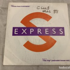 Discos de vinilo: S-EXPRESS* ‎– THEME FROM S-EXPRESS SELLO: RHYTHM KING RECORDS ‎– LEFT 21 FORMATO: VINYL, 7 . Lote 174408478