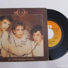 Discos de vinilo: 45 RPM - MECANO - ME COLE EN UNA FIESTA. Lote 174408922