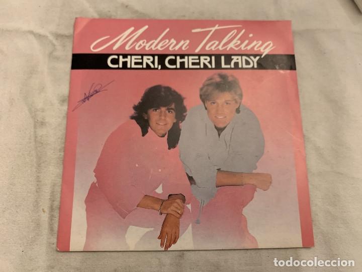 MODERN TALKING – CHERI, CHERI LADY SELLO: WEA – 248 873-7, WEA – 24 8873-7 FORMATO: VINYL, 7 (Música - Discos de Vinilo - Singles - Pop - Rock Extranjero de los 80)