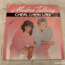 Discos de vinilo: MODERN TALKING – CHERI, CHERI LADY SELLO: WEA – 248 873-7, WEA – 24 8873-7 FORMATO: VINYL, 7 . Lote 174409572
