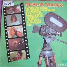 Discos de vinilo: LP - TEMAS DE PELICULAS - VARIOS (SPAIN, GRAMUSIC 1976). Lote 174409715