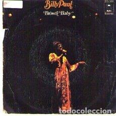 Discos de vinilo: DISCOS (BILLY PAUL). Lote 174409787