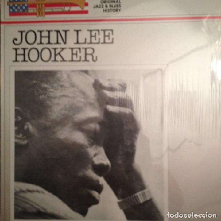 JOHN LEE HOOKER – THE ORIGINAL JAZZ & BLUES HISTORY VOL.6 DOBLON – 50.1860 ED. ESPAÑA (Música - Discos - LP Vinilo - Jazz, Jazz-Rock, Blues y R&B)