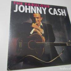 Discos de vinilo: JOHNNY CASH – THE FABULOUS JOHNNY CASH . LP`2014 EU PRECINTADO. Lote 174414645