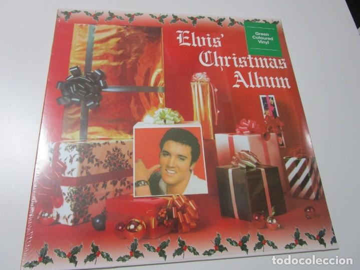 Elvis Christmas Album.Elvis Presley Elvis Christmas Album Lp 2016 Eu Vinilo Verde Precintado